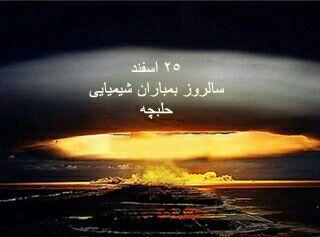 بمباران شیمیایی حلبچه