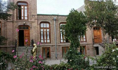 تصویر خانه پروین اعتصامی