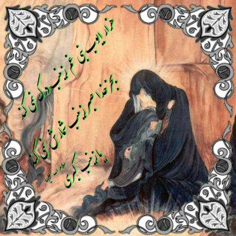 حضرت زینب سلام الله علیها | ضیاءالصالحین